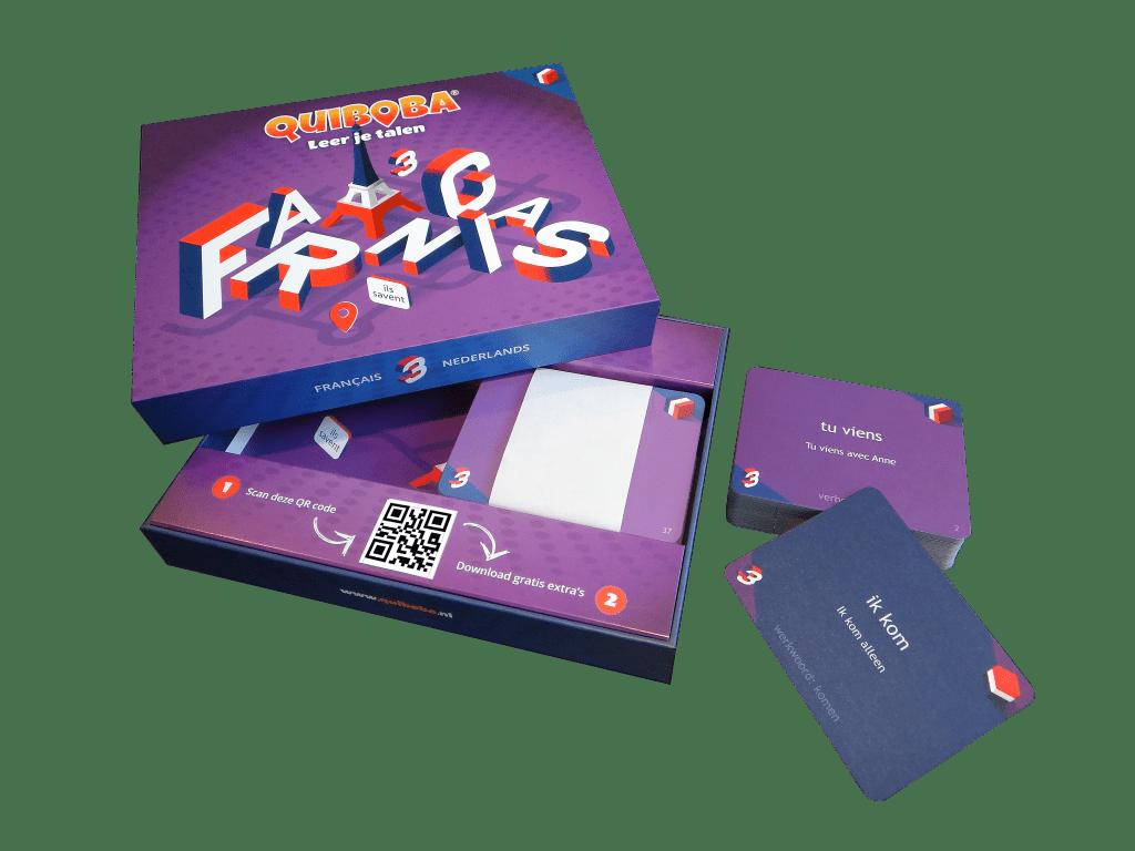 Frans leren in spelvorm met taalspellen